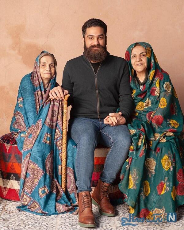 مادر و مادر بزرگ علی زند وکیلی