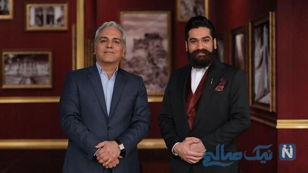 مهران مدیری و خواننده معروف