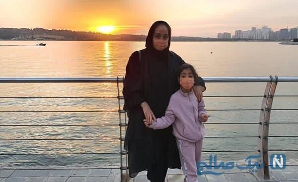 دختر آرزو افشار