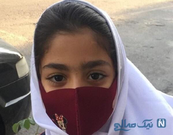 پارمیدا دختر خوانده بازیگر معروف