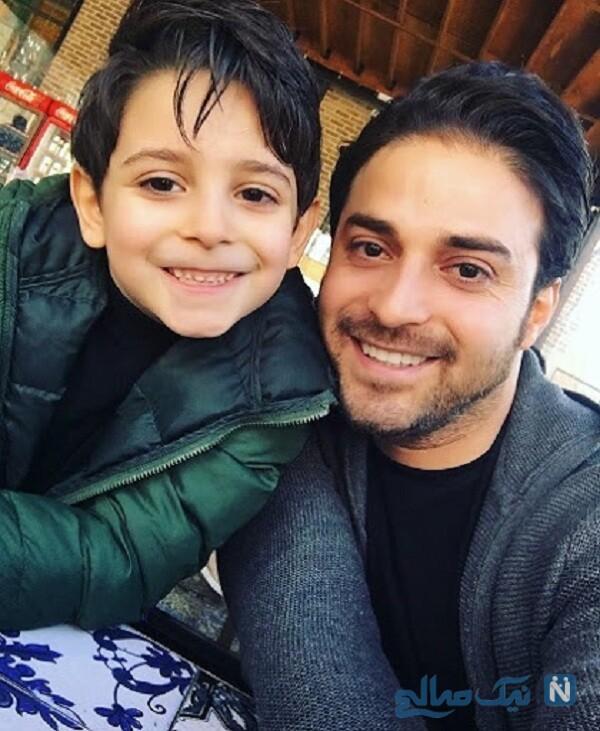پسر خواننده ایرانی