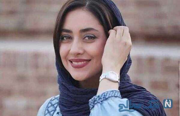 تیپ متفاوت بهاره کیان افشار بازیگر زن زیبای مسلمان در کویر شهداد