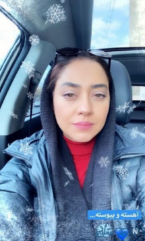 چهره بدون آرایش بهاره کیان افشار