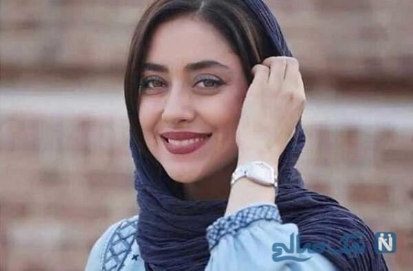 چهره ساده و بدون آرایش بهاره کیان افشار زن زیبای مسلمان جهان