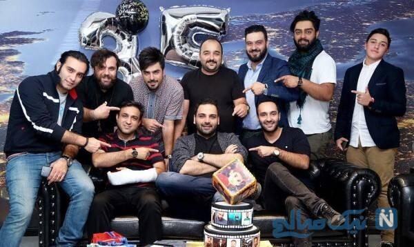 جشن تولد احسان علیخانی مجری