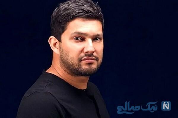 تبریک خاص منوچهر هادی کارگردان سریال دل برای تولد حامد بهداد