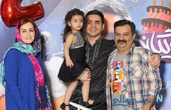 جشن تولد دختر محسن یگانه