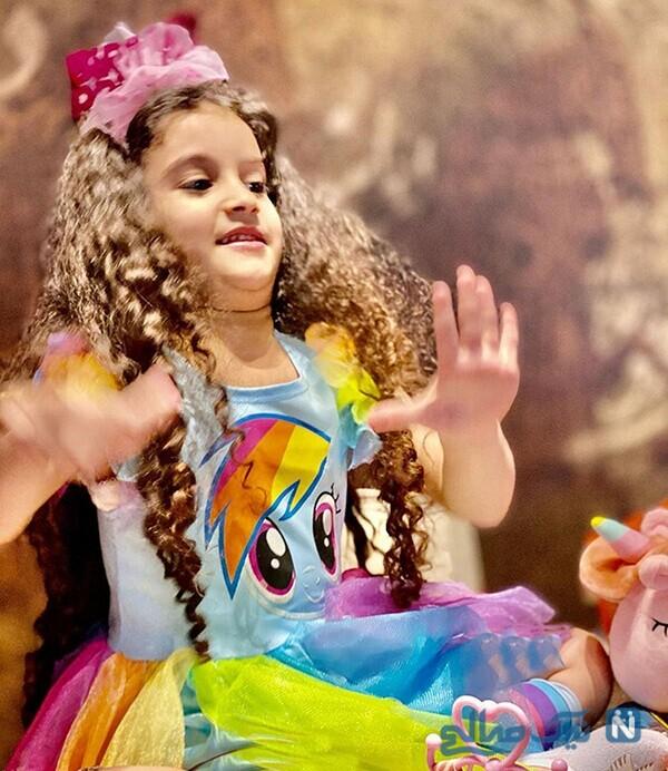 جشن تولد نگاه دختر محسن یگانه