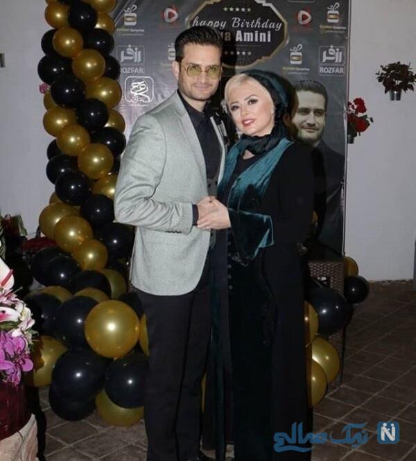 جشن تولد همسر پویا امینی