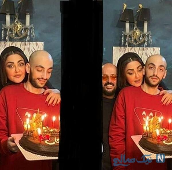 جشن تولد پسر شقایق فراهانی