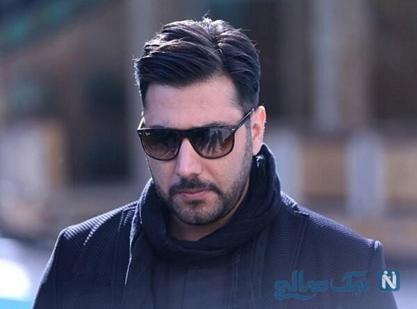 بابک جهانبخش و علی زند وکیلی در جشن تولد احسان خواجه امیری