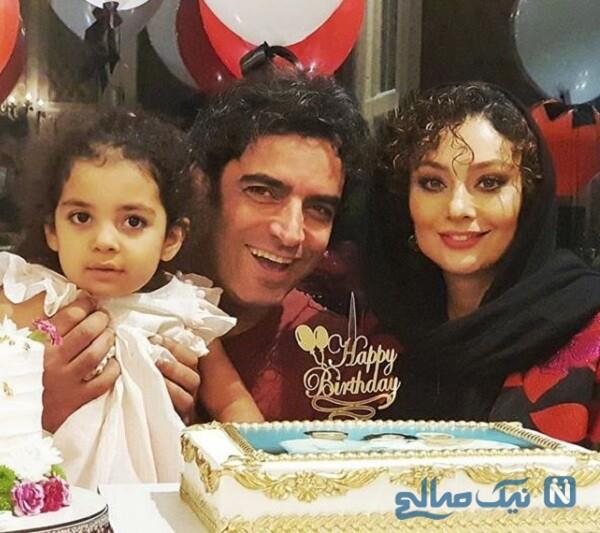 جشن تولد یکتا ناصر