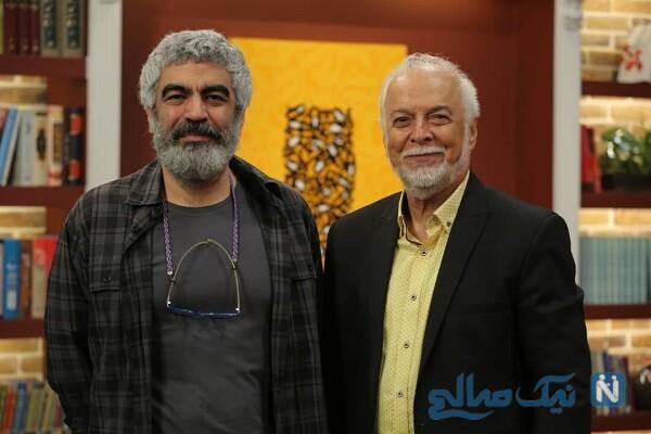 چنگیز جلیلوند دوبلور ایرانی در برنامه کتاب باز