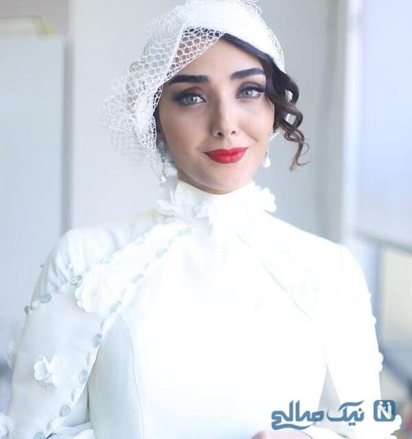 لباس عروس دریا مرادی دشت بازیگر