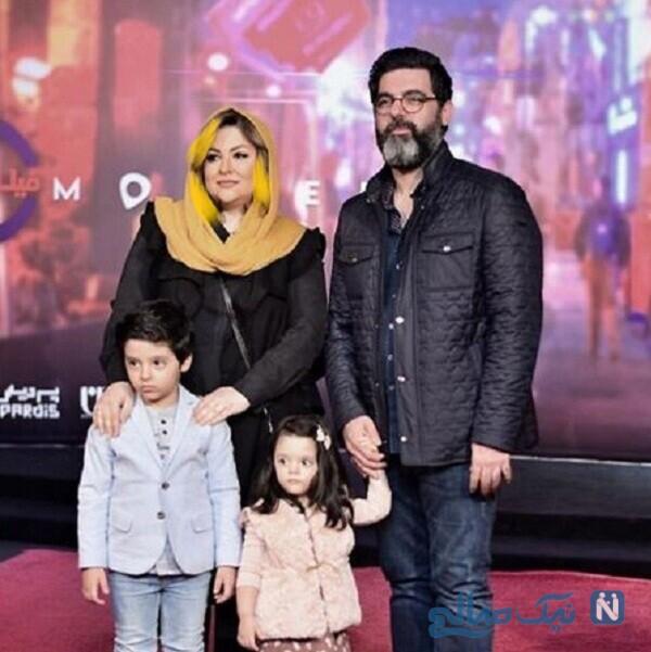 همسر و فرزندان مصطفی کیایی