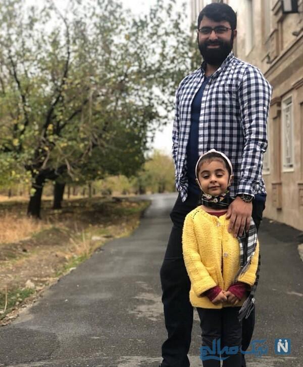 حسین شمقدری و دخترش