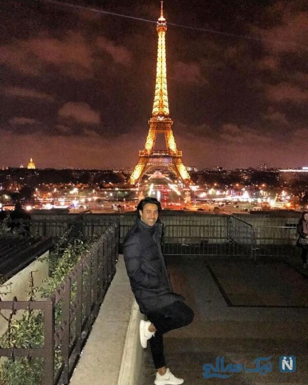 گردش فرهاد مجیدی در پاریس