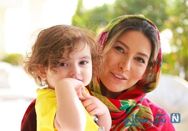 فریبا نادری و یکتا ناصر با چهره بچه گانه