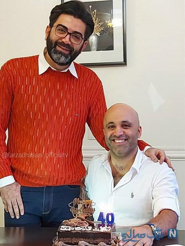 آقای مجری و دوستش