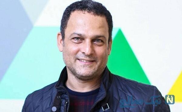 حسین یاری بازیگر سریال عاشقانه همراه پسر و نوه اش