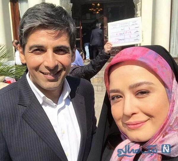 مهراوه شریفی نیا و آقای بازیگر