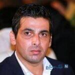حمید گودرزی بازیگر سریال دلدادگان در آرایشگاه لاکچری
