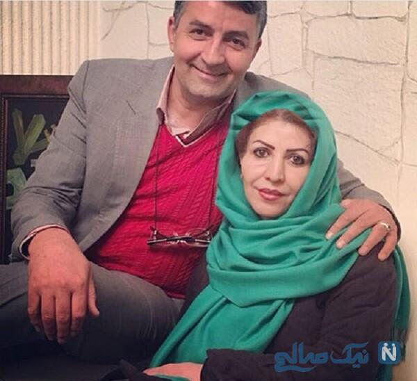 همسر کمدین ایرانی