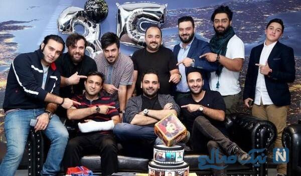 خاص ترین تبریک تولد احسان علیخانی