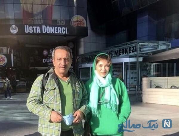 حمیرا ریاضی و علی اوسیوند در ترکیه