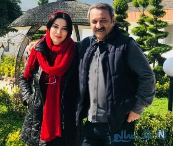 علی اوسیوند و همسرش