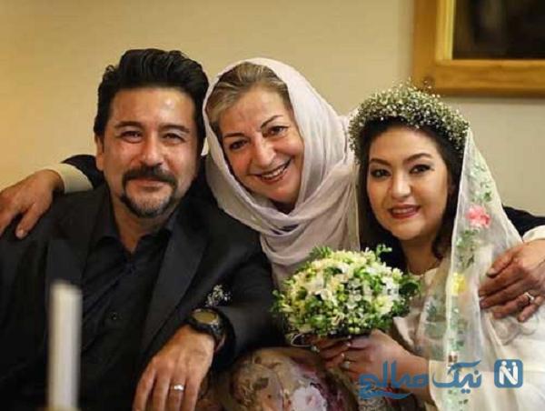 مادر و همسر امیرحسین صدیق