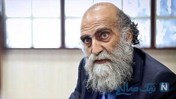 مرحوم کریم اکبری مبارکه در بچه مهندس