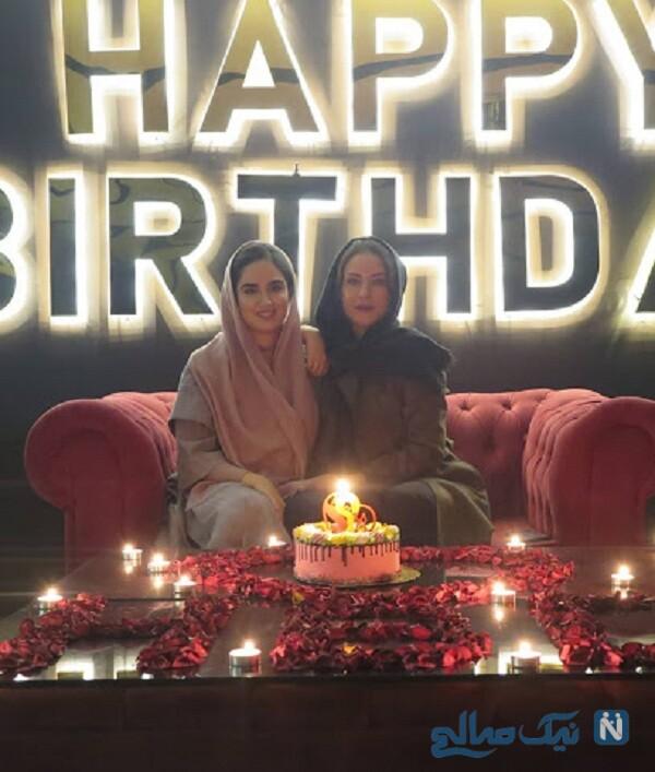 جشن تولد لادن سلیمانی