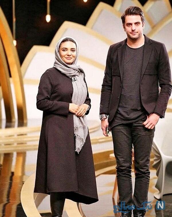 علی ضیا و خانم بازیگر