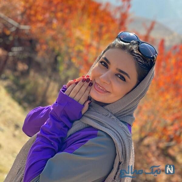 استایل پاییزی لیندا کیانی