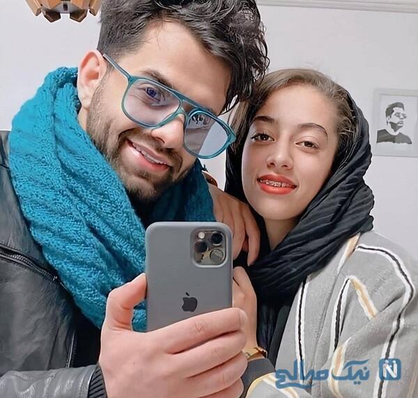 رضا بهرام و خواهرش