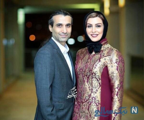 ابراهیم اشرفی و همسرش