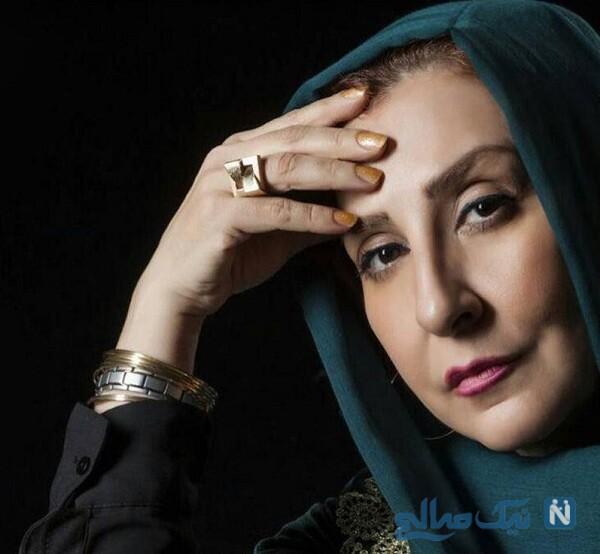 جواهرات مرجانه گلچین بازیگر معروف