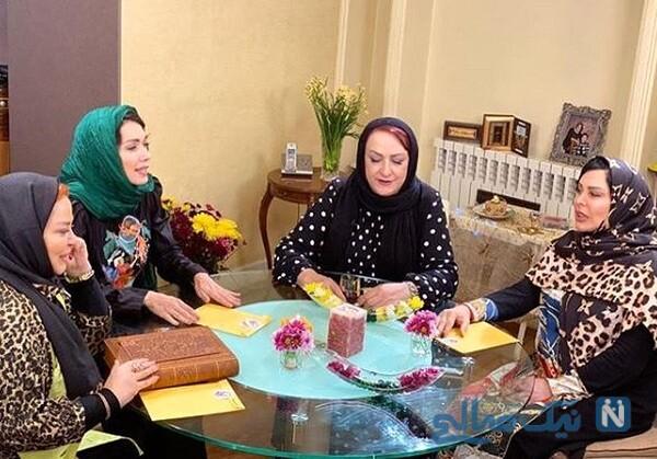 دورهمی خانم های بازیگر در شام ایرانی