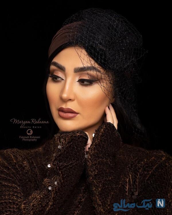 عکس آتلیه ای بازیگر زن