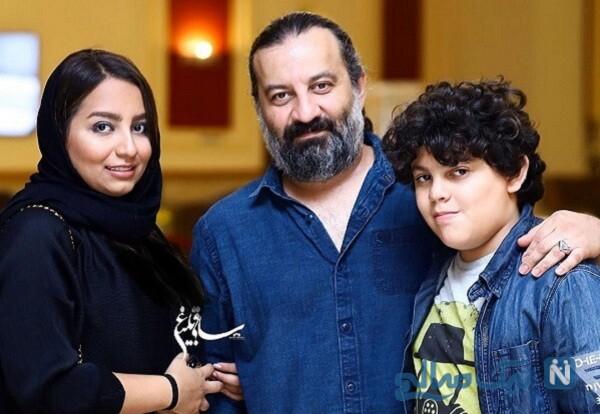مهراب قاسم خانی و پسرش نویان و دخترش