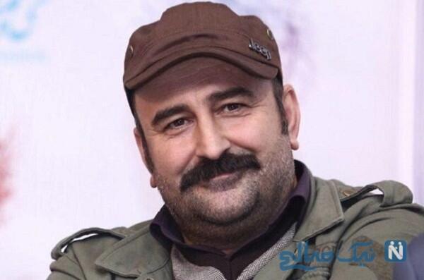 ظاهر جدید مهران احمدی بازیگر سریال پایتخت با عینک دودی