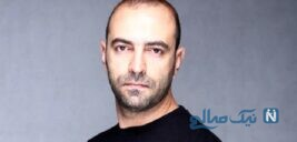 سلفی جالب مهران نائل بازیگر سریال دل دار با پسر بامزه اش کاوه