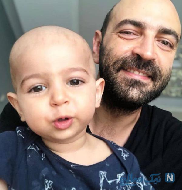 مهران نائل و پسرش