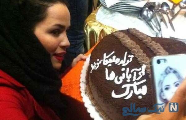 جشن تولد ملیکا شریفی نیا