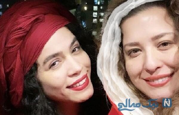 تبریک تولد مهراوه شریفی نیا به خواهرش