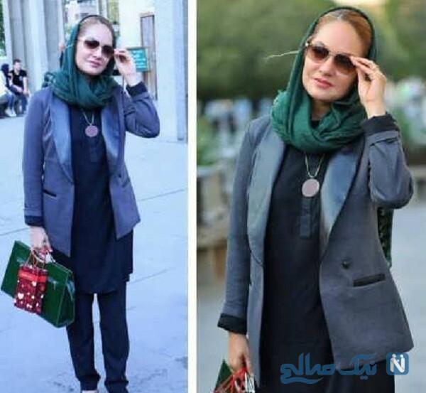 تصویری از مدل شدن مهناز افشار