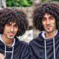 استایل پاییزی رحمان و رحیم دوقلوهای مو فرفری سریال پایتخت