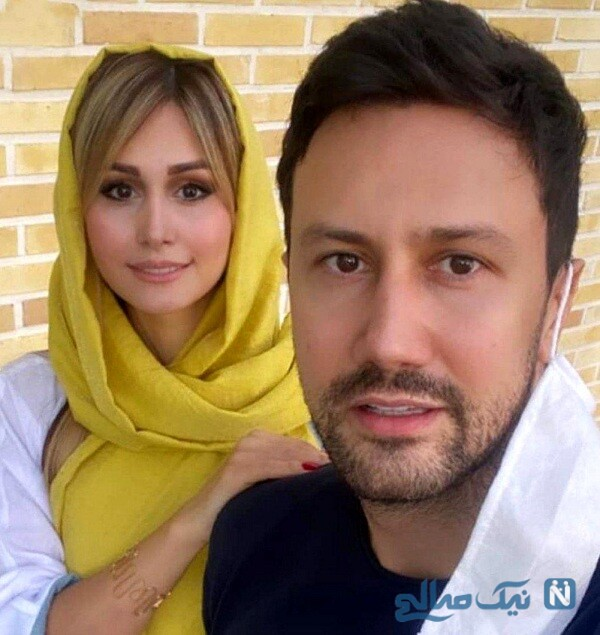 عکس جدید شاهرخ استخری و همسرش سپیده بزمی پور