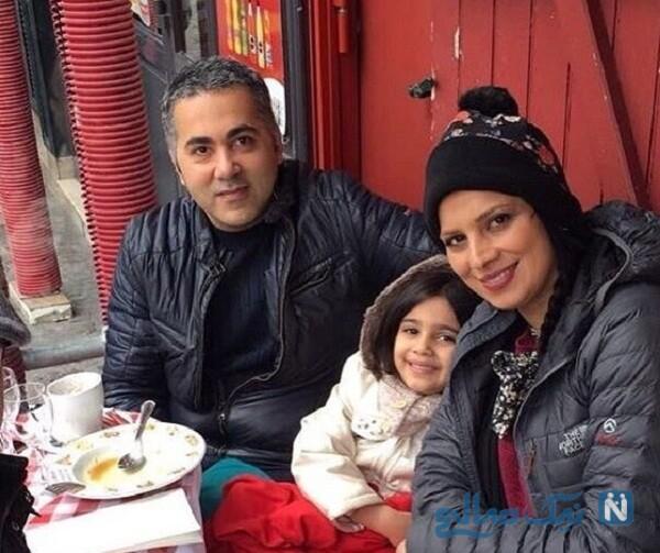 تصاویر جدید روشنک عجمیان درکنار همسر و دخترش